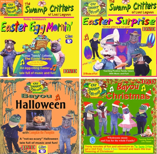 Set of Four Holiday DVDs