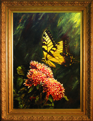 A Butterfly for Bucky Print on Canvas