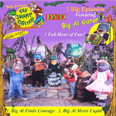 Big Al Gator DVD____2 Complete 1/2 hour episodes