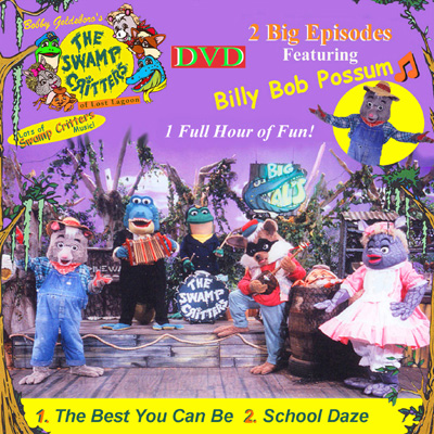 Billy Bob Possum DVD___2 Complete 1/2 Hour Episodes