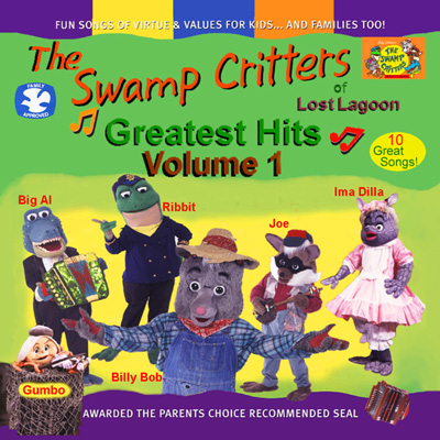 The Swamp Critters Greatest Hits Vol. 1 - CD