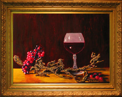 California Wine Giclee