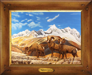 Bighorn Country Giclee