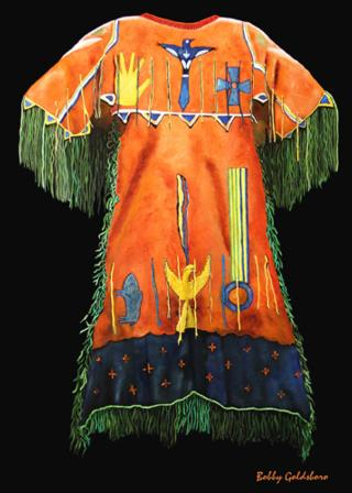 Arapaho Ceremonial Dress Greeting Card