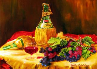 Chianti, Anyone? Greeting Card
