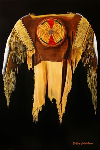 Plains Indian Shirt I Greeting Card