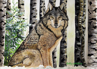 Tundra Greeting Card
