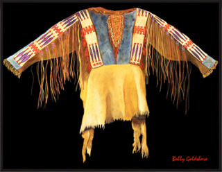 Lakota Sioux War Shirt