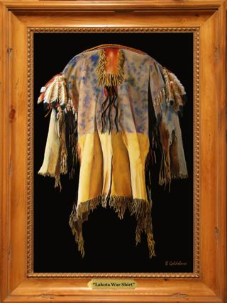 Lakota War Shirt Giclee