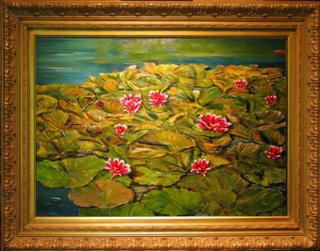 Lily Pads Giclee