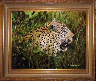 Mike's Leopard Giclee
