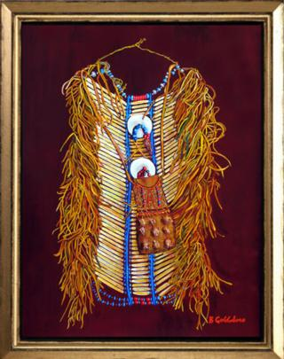 Native Amrican Breastplate II