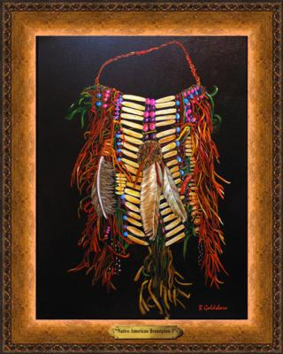 Native American Breastplate I
