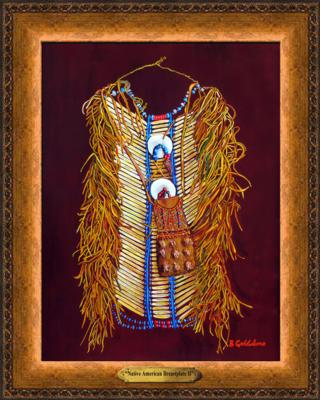 Native American Breastplate II Giclee