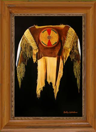 Plains Indian Shirt I Giclee