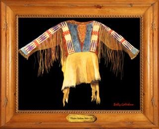 Plains Indian Shirt III Giclee