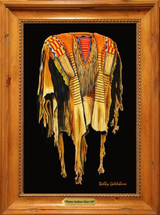 Plains Indian Shirt IV Giclee