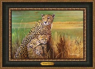 Serengeti Morning Giclee