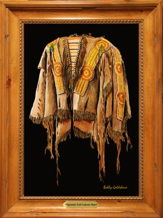 Spotted Tail Lakota Shirt Giclee