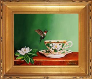 Tea With Pat I Giclee