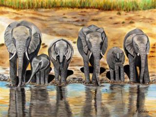 Watering Hole Giclee