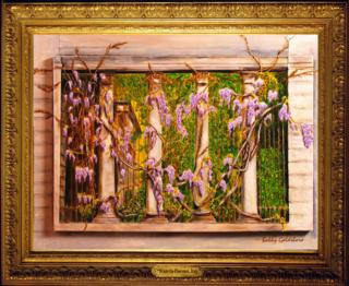 Wisteria-Florence, Italy Giclee