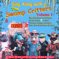 Sing Along with The Swamp Critters-DVD