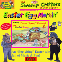 The Swamp Critters' Easter Egg Mornin' - DVD