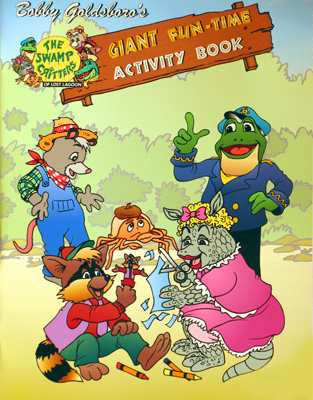 Giant Fun-Time Activity Book