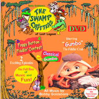 Gumbo, the Fiddler Crab DVD____2 Complete 1/2 hour Episodes