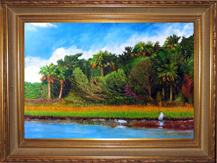Intracoastal Morning Giclee