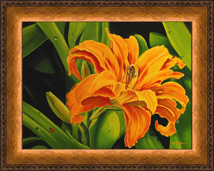 Lady & the Lily Giclee