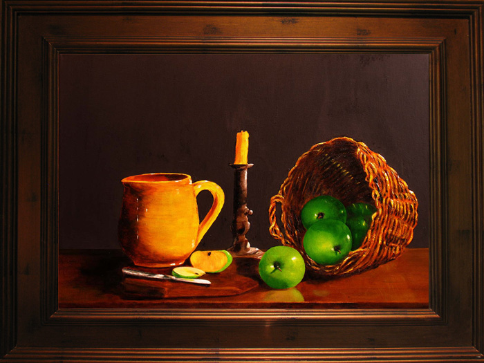 Little Green Apples Giclee