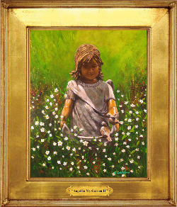 Angel in My Garden II*SOLD