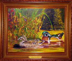 Autumn Wood Ducks* SOLD