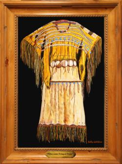 Cheyenne Fringed Dress*