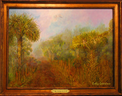Foggy Morning Forest Trail*SOLD