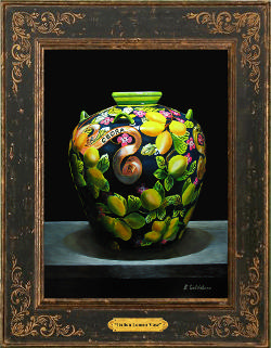 Italian Lemon Vase*SOLD