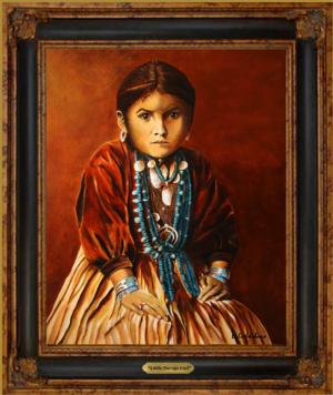 Little Navajo Girl*SOLD