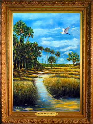 Prairie Marsh in Fall*SOLD